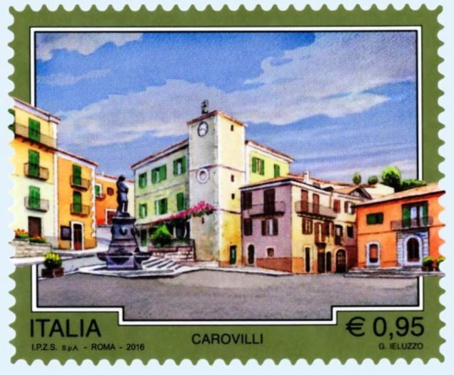 Carovilli-francobollo